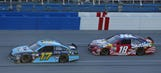 Kyle Busch on Stenhouse: 'Just had to hold him off, and we didn't'