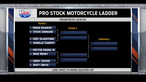 Pro Stock Motorcycle - left