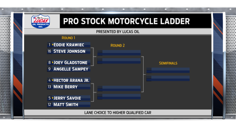 Pro Stock Motorcycle - left