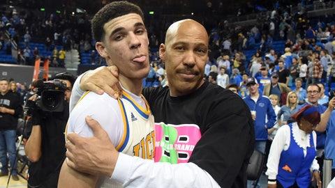 Los Angeles Lakers: Lonzo Ball, PG, UCLA (freshman)