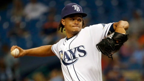 Rays SP Chris Archer to Cubs