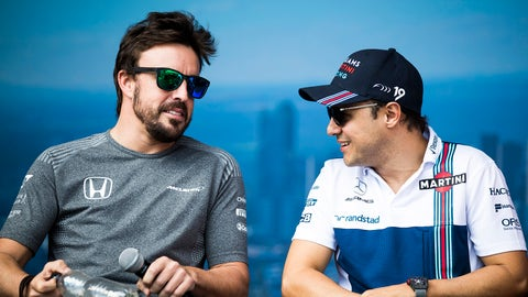 Felipe Massa doesn't approve of Fernando Alonso's decision to miss the Monaco GP for the Indy 500. (Photo : Sam Bloxham/LAT Images)