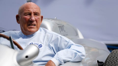 Sir Stirling Moss pictured during the 2015 Goodwood Festival of Speed. (Photo: Alastair Staley/LAT Photographic)