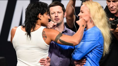 Amanda Nunes and Valentina Shevchenko take their rivalry to the next level
