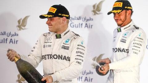Lewis Hamilton (R) insists that he never underestimated Valtteri Bottas (R). (Photo: Glenn Dunbar/LAT Images)