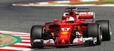 Vettel not captain of his ship in Barcelona practice