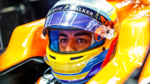 Fernando Alonso will start seventh for Sunday's Spanish GP. (Photo: Steven Tee/LAT Images)