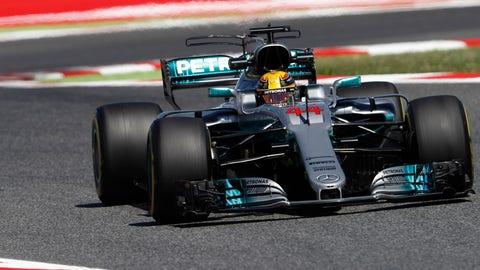 Lewis Hamilton will start on pole for the Spanish GP. (Photo: Glenn Dunbar/LAT Images)