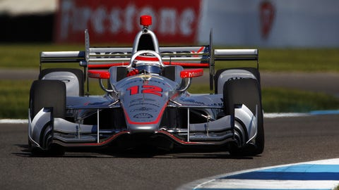 Will Power won Saturday's IndyCar Grand Prix at Indianapolis Motor Speedway. (Photo: Phillip Abbott/LAT Images)