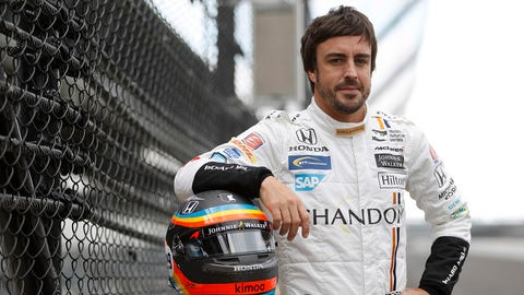 The 101st running of the Indianapolis 500 will be the first oval race for Fernando Alonso. (Photo: Michael L. Levitt/LAT Images)