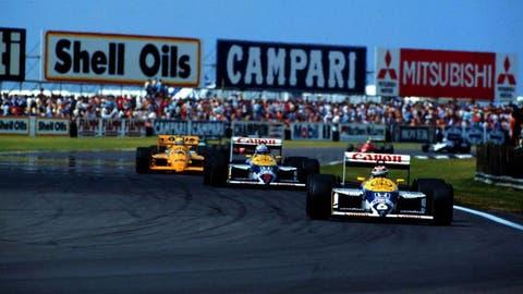Nigel Mansell vs. Nelson Piquet
