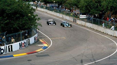 Damon Hill vs. Michael Schumacher