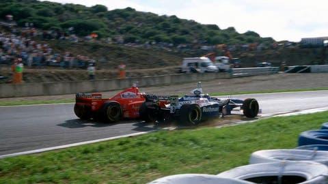 Michael Schumacher vs. Jacques Villeneuve