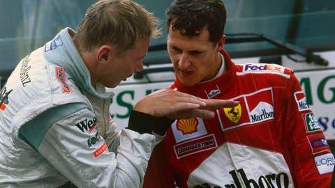 Mika Hakkinen vs. Michael Schumacher