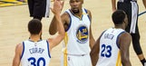 3 things you missed from the Warriors' Game 2 blowout of the Spurs without Kawhi Leonard