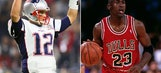 Undisputed: Will Tom Brady pass Michael Jordan as the greatest athlete in team sports?