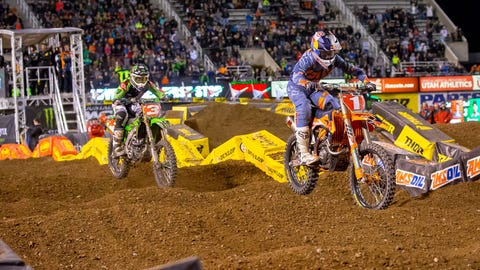 Dungey had a good points race with Eli Tomac this season; does Dungey leave the sport in good shape for the immediate future?