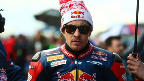 Nicky Hayden's crash