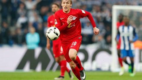 Midfield: Emil Forsberg (RB Leipzig)