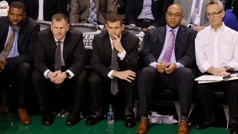 One minor adjustment cost the Celtics any shot in the first quarter
