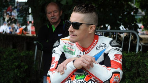 Nicky Hayden pictured at the 2016 Goodwood Festival of Speed. (Photo: Jeff Bloxham/LAT Photographic)