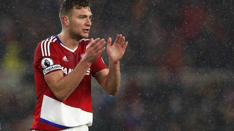 Middlesbrough — Ben Gibson