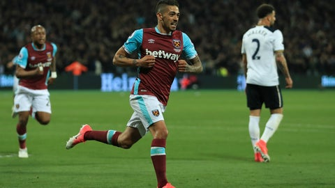 West Ham United — Manuel Lanzini