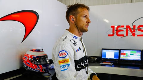 Jenson Button pictured ahead of the 2016 Monaco GP. (Photo: Steven Tee/LAT Photographic)