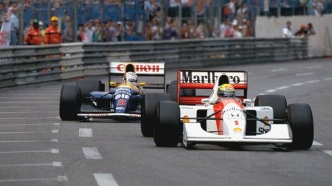 4. 1992 Monaco GP