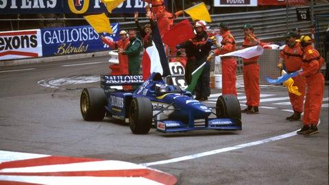 2. 1996 Monaco GP