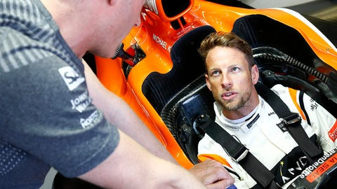 Jenson Button will race Fernando Alonso's MCL32 Honda at this weekend's Monaco GP. (Photo: Andrew Hone/LAT Images)