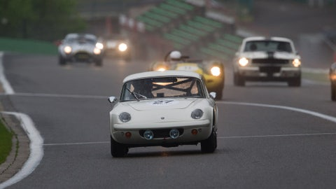 Racing into the night