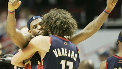Year Three (LeBron James: 2005-06; Michael Jordan: 1986-87)
