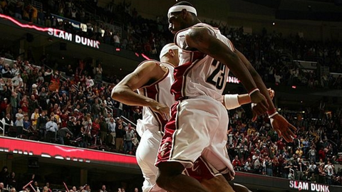 Year Four (LeBron James: 2006-07; Michael Jordan: 1987-88)