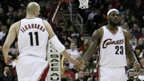 Year Two (LeBron James: 2004-05; Michael Jordan: 1985-86)