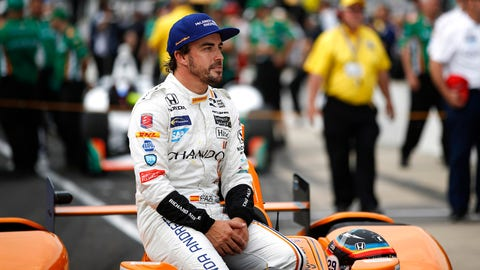 Fernando Alonso will start fifth for the 2017 Indianapolis 500. (Photo: Michael L. Levitt/LAT Images)