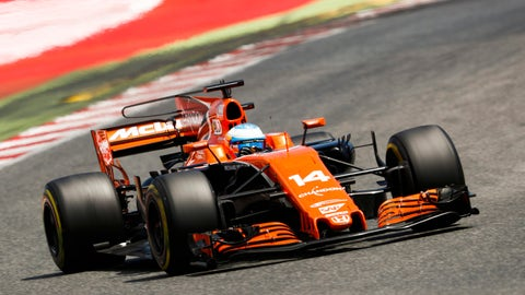 Fernando Alonso made it into Q3 at the Spanish GP. (Photo: Glenn Dunbar/LAT Images)