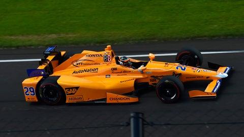 Chase Wilhelm - Indianapolis 500 - Fernando Alonso