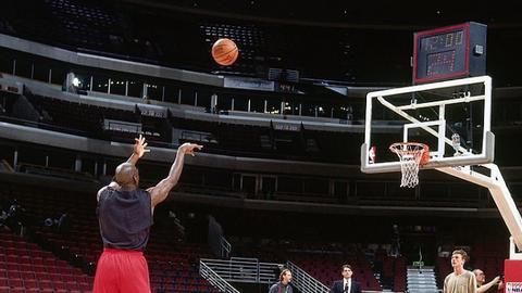 Free-throw shooting: Michael Jordan
