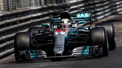 Lewis Hamilton will start on the seventh row for the Monaco GP. (Photo: Glenn Dunbar/LAT Images)