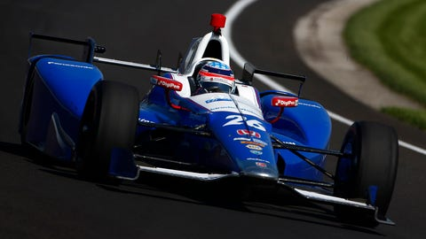 Takuma Sato won the 2017 running of the Indianapolis 500 after starting fourth. (Photo: Phillip Abbott/LAT Images)