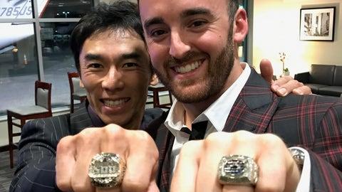 Meeting Takuma Sato