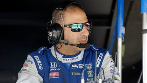Tony Kanaan will race at this year's 24 Hours of Le Mans. (AP Photo/Michael Conroy)