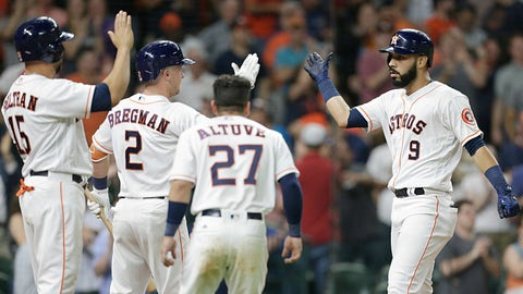 Astros at Rangers (June 2-4)