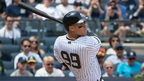 Aaron Judge, Yankees
