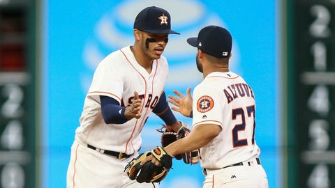 Jose Altuve and Carlos Correa, Astros