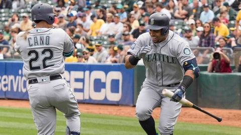 Nelson Cruz and Robinson Cano, Mariners