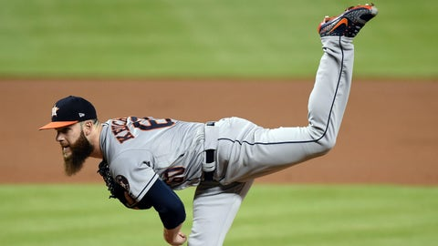 Dallas Keuchel, Astros