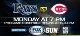 Preview: Rays return home to host Reds in interleague play