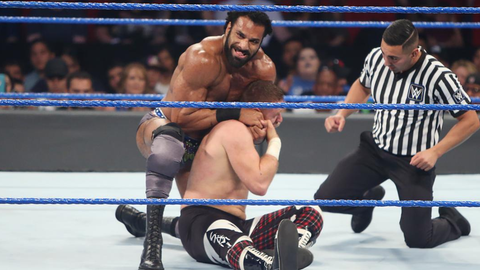 Fox Sports: What's a Jinder Mahal workout like, and how hard is it to get your workouts in given your travel and work schedule?